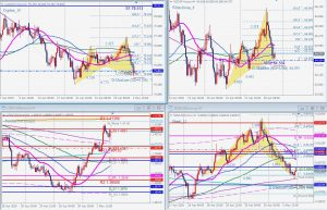 Commodity currencies harmonic patterns 2 May 2020 NZDとCADのハーモニックパターン